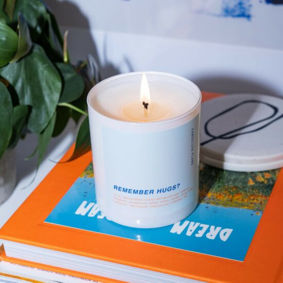 Remember Hugs? Scented Candle by Cancelled Plans