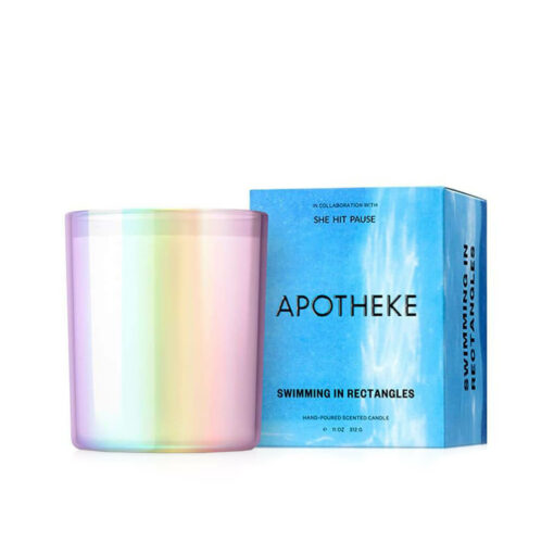 Swimming in Rectangles Candle by Apotheke
