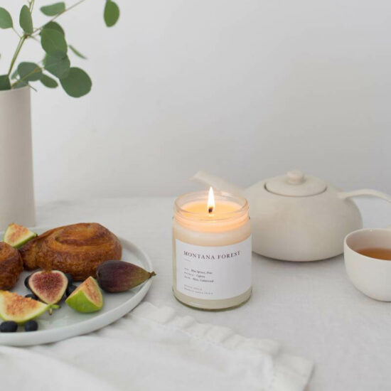 Montana Forest Candle by Brooklyn Candle Studio