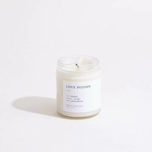 Love Potion Candle by Brooklyn Candle Studio