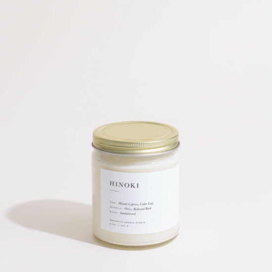 Hinoki Candle by Brooklyn Candle Studio