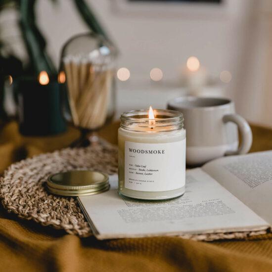 Woodsmoke Candle by Brooklyn Candle Studio