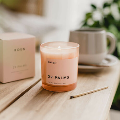 29 Palms Scented Candle by Roen