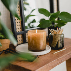 Amber Black Vanilla Candle by LAFCO