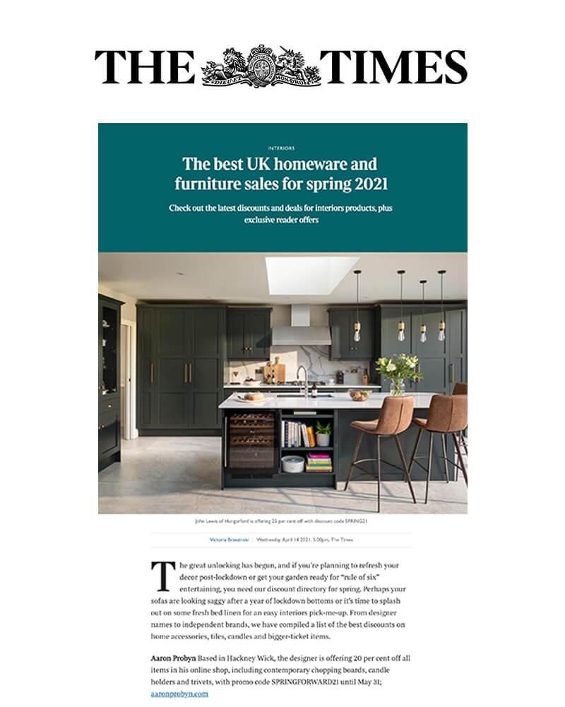 The Times April 2020 Osmology