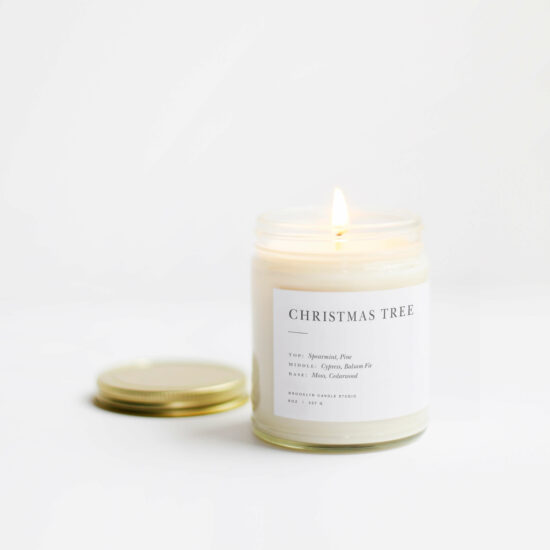 Christmas Tree Candle by Brooklyn Candle Studio