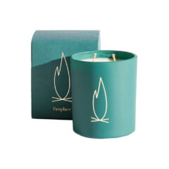 Fireplace Vert Deco Candle by Brooklyn Candle Studio