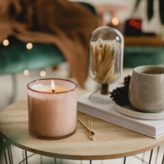 Black Pomegranate Candle by LAFCO
