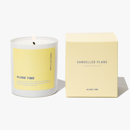 Alone Time Scented Candle by Cancelled Plans