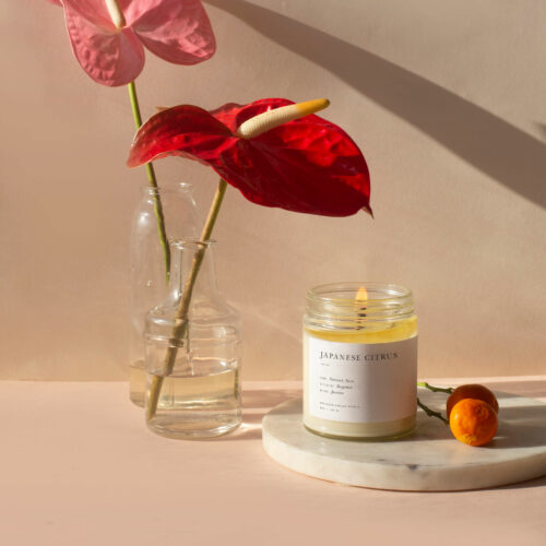 Japanese Citrus Candle by Brooklyn Candle Studio