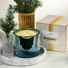 Frosted Pine Candle by LAFCO