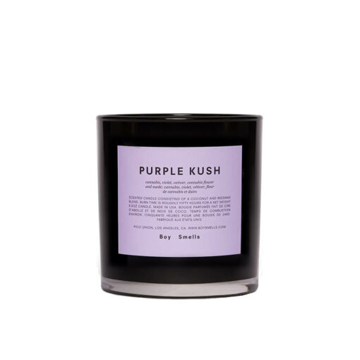 Purple Kush Scented Candle by Boy Smells