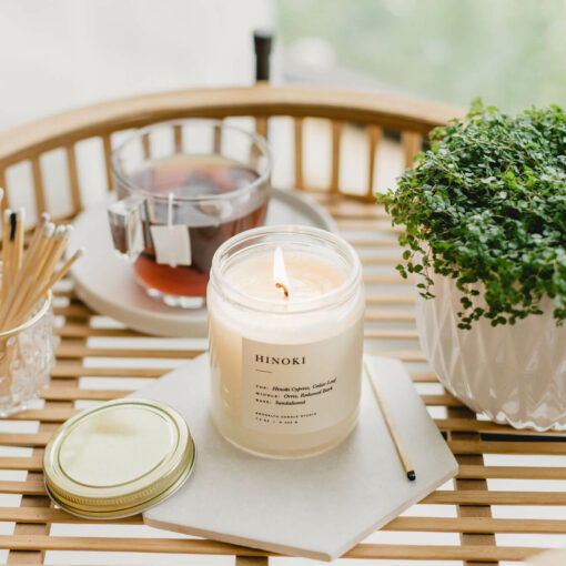 Hinoki Scented Candle by Brooklyn Candle Studio