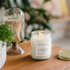 Palo Santo Candle by Brooklyn Candle Studio