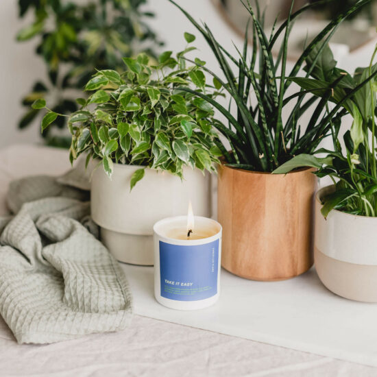 Take it Easy Scented Candle by Cancelled Plans