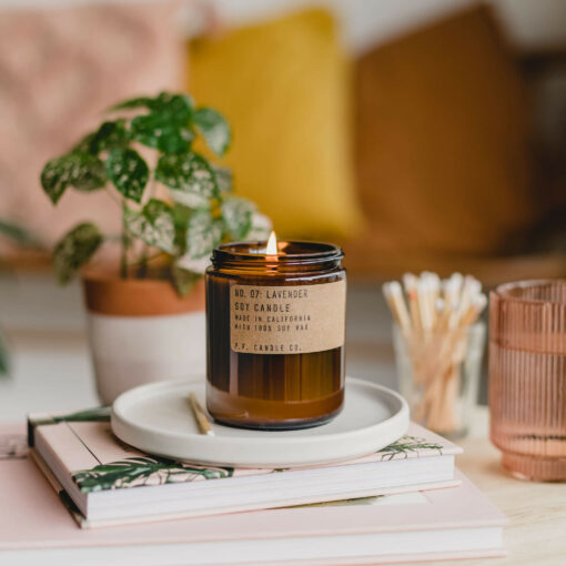 Lavender Candle by P.F. Candle Co.