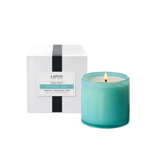 Watermint Agave Candle by LAFCO