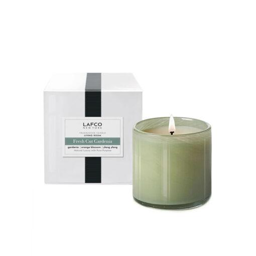 Fresh Cut Gardenia Candle by LAFCO