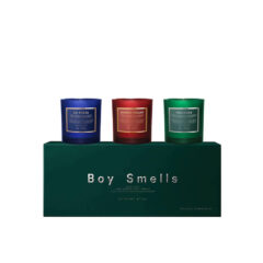 Holiday 2021 Scented Candle Set by Boy Smells