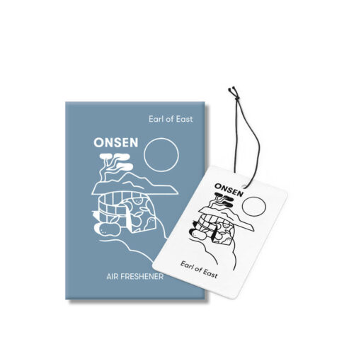 Onsen Car Fragrance by Earl of East