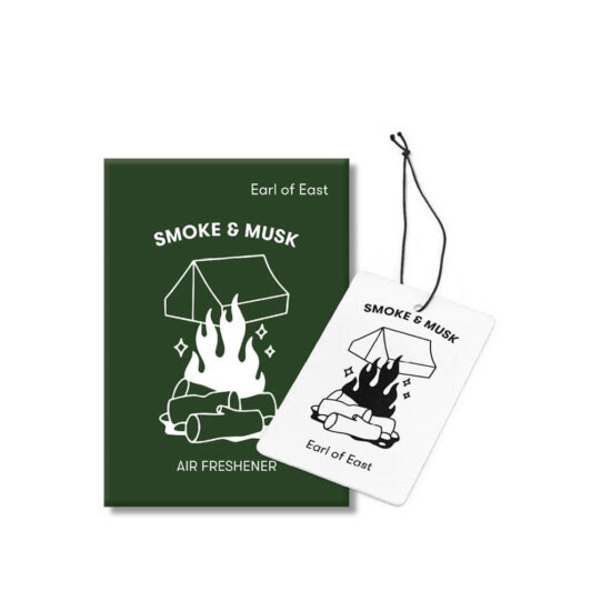 Smoke & Musk Car Fragrance by Earl of East