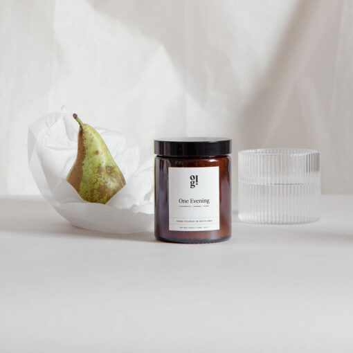 One Evening Scented Candle by Our Lovely Goods