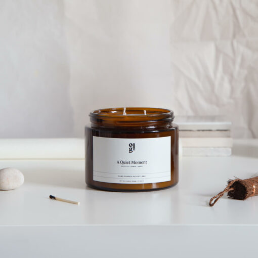 A Quiet Moment Scented Candle by Our Lovely Goods
