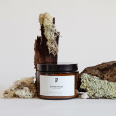 Into The Woods Scented Candle by Our Lovely Goods