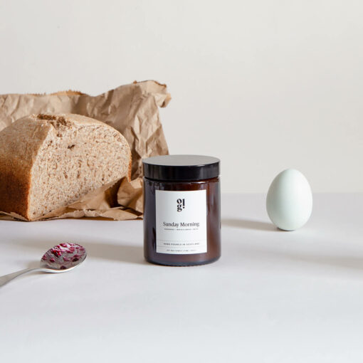 Sunday Morning Scented Candle by Our Lovely Goods