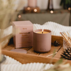 Moroccan Rose Scented Candle by Aery