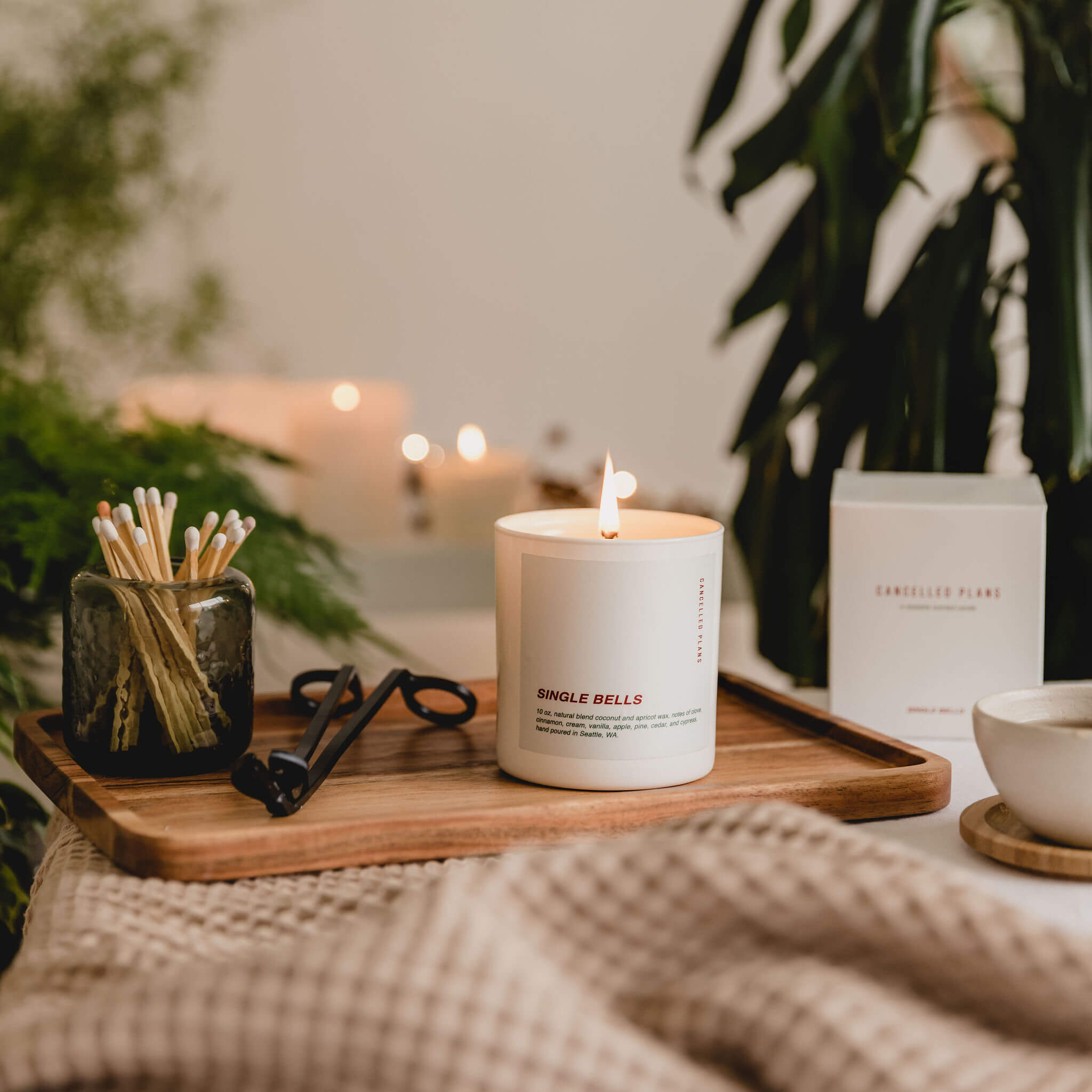 Single Bells Scented Candle by Cancelled Plans